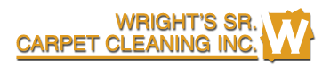 Wright's Sr Carpet Cleaning Logo